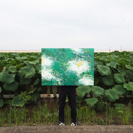 2019  レンコンの花  Lotus flower