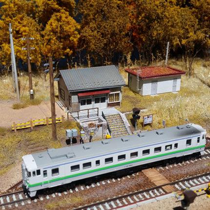 秘境駅「姫川」の秋