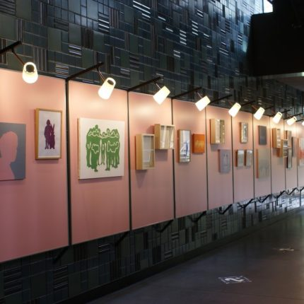 Solo Exhibition at Ace Hotel Kyoto ERI NOMURA:SILHOUETTE, SCHATTEN(Kyoto,JAPAN) Curated by THE FRIDGE TOKYO