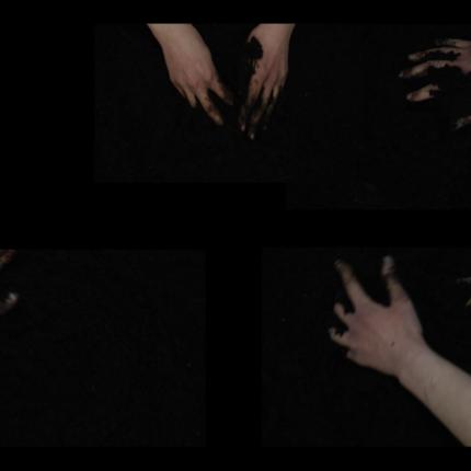 《この地球、この土、この水に触れて(the earth, the land and the water)》ビデオからのスチル画像