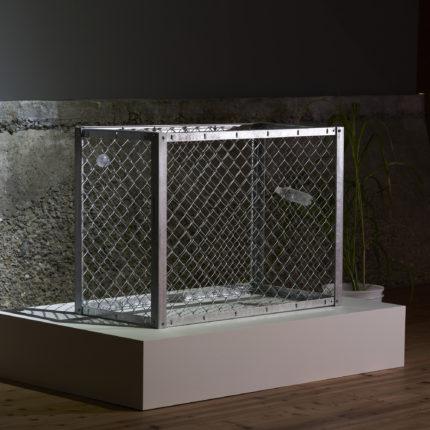 Fence(2020) ガラス、フェンス